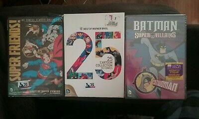 Best of Warner Bros 25 Cartoon Collection DVD 3 disc collection plus 2 *Lot of 3