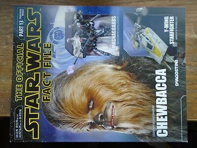 STAR WARS FACT FILE part 13   CHEWBACCA