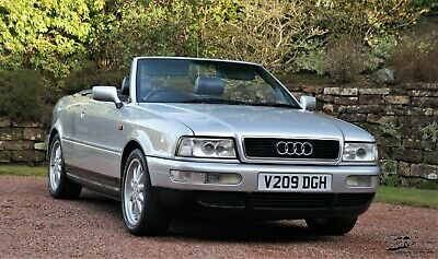 Audi 80 Convertible 2.8 Final Edition - 12 Service Stamps - Appreciating Classic