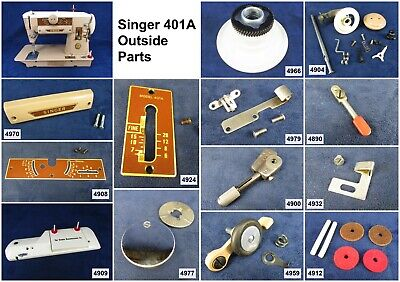 Singer Sewing Machine Model 401A Choose Your Parts! Free Ship Over $25