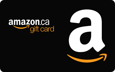 $1 Amazon.ca Gift Card - 1 Day Delivery