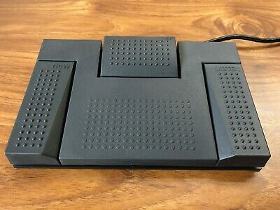 Olympus RS24 Foot Switch Transcription / Dictation Pedal for PC or Mac Brand New