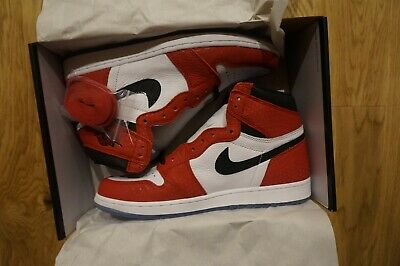 d0bdbe5dd7d NIKE AIR JORDAN 1 Origin Story (Spider-Man, Chicago) - US 11 UK 10 ...