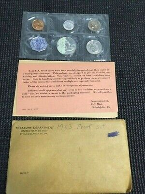 1963 SILVER U.S.PROOF SET with ISSUES