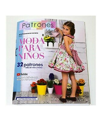SEWING Pattern MAGAZINE book Baby girls' dresses boys fashion Spring-Summer NEW