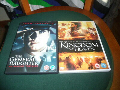 the generals daughter and kingdom of heaven dvds