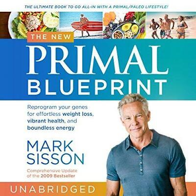 The New Primal Blueprint By Mark Sisson (audio book, MP3, Download)