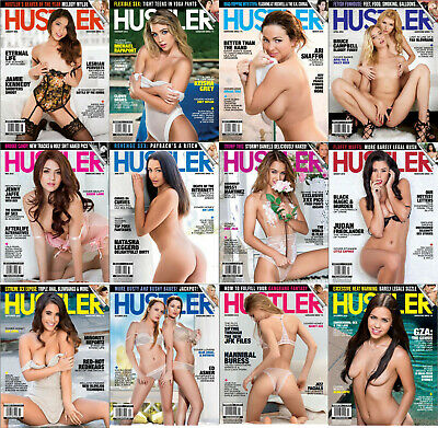 Hustler 2018 - Full Year Issues Collection