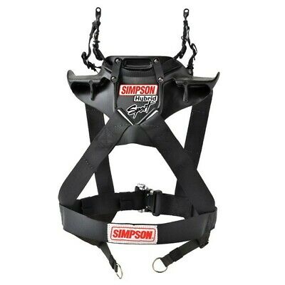 Simpson Hybrid Sport Head and Neck Restraint with SAS Equipped Size X-Large