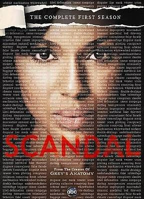 Scandal: The Complete First Season (DVD, 2012, 2-Disc Set) Brand New/SEALED*