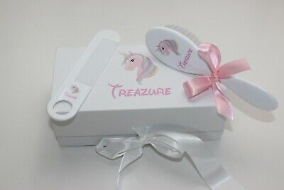 Personalized Baby Brush & Comb Set, Personalized Gift, ANY CHARACTER