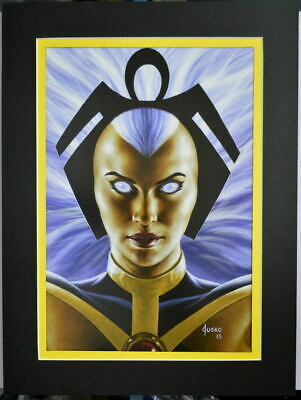 STORM Professionally Matted PRINT Joe Jusko art X-Men