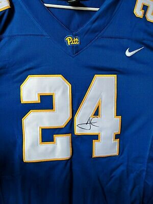 Pitt Panthers James Conner Autographed Signed Jersey Pro Bowl Coa Pass  Guarant af4d816ba