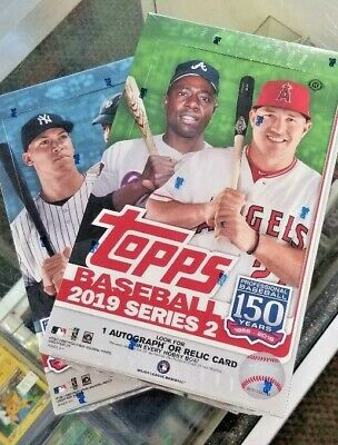 2019 Topps Series 1 Baseball Factory Sealed Hobby Box ~ 24 Packs + 1 Silver Pack