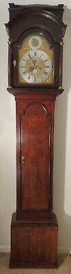"Rare London Longcase Clock c1740 With ""Year"" Dial in Arch. Austin. Fully Working"