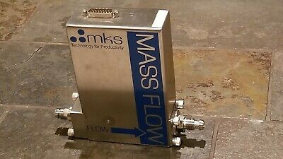 MKS Precision MASS FLOW CONTROLLER Viton 50 Slim MADE IN GERMANY 1579A00451LV1BV