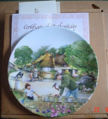 Royal Doulton Collectors Plate THE DRY STONE WALLER