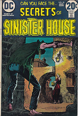 Secrets Of Sinister House #10 Vf- To Vf