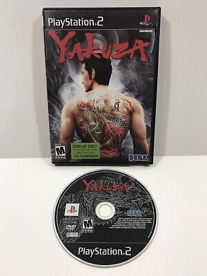 Yakuza (Sony PlayStation 2, 2006) DISC ONLY WORKS PERFECT SHIPS FAST PS2