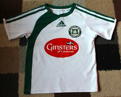 7ac5a950 PLYMOUTH ARGYLE FC 'Adidas' (Away) Shirt 2009-2010 (Baby Childs 22 ...