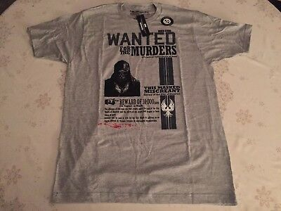 Loot Crate Dishonored Wanted Men/'s T-Shirt Exclusive