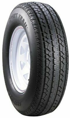 2 New Carlisle Sport Trail Bias Trailer Tires Only 20.5/8.0-10 8PR LRD