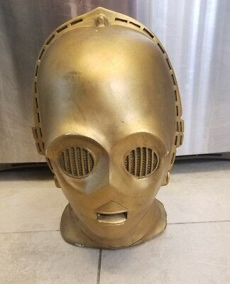 STAR WARS C-3PO Bust Statue 1977 Movie Memorabilia Prop Sculpt C3PO Don Post