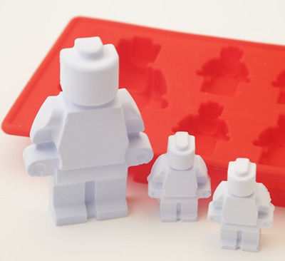 LEGO doll 5 Silicone soap Mould plaster Mold