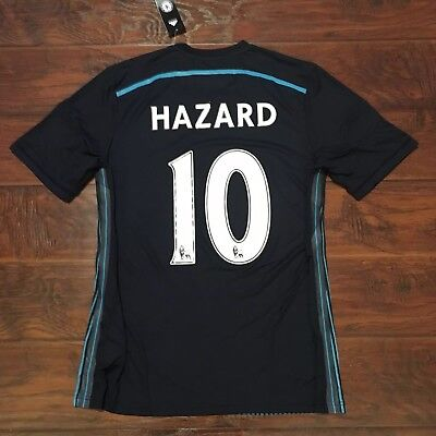 0a92b5358d8 ... wholesale 2014 15 chelsea 3rd jersey 10 hazard adidas 9 player issue  belgium new ef39a 94e0c