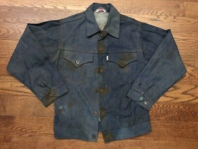 Vintage Levi's Big E/ Rusty Buttons Youth Denim Jacket