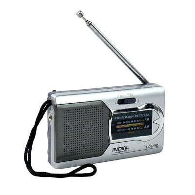 Outdoor Portable AM/FM World Receiver Battery Powered Telescopic Antenna Radio