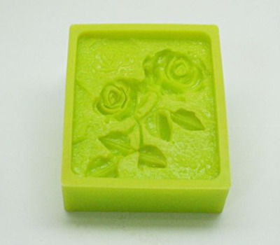 (Silicone Mould) Still-life (Rose) Silicone soap Mould plaster Mold
