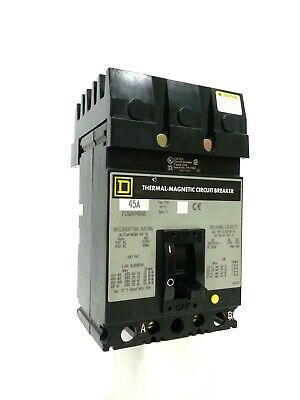 Square D FCB24045AB Circuit breaker A and B Phase