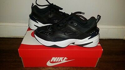 newest collection 3d52f 2f417 Nike Women s M2k Tekno Black Off White Obsidian Blue Running Dad AO3108-003