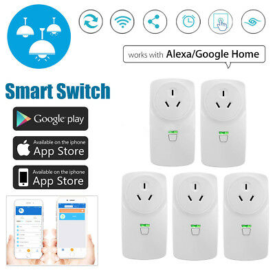Wifi Wireless Smart Power AU Plug Socket Outlet Switch For ECHO ALEXA GOOGLE