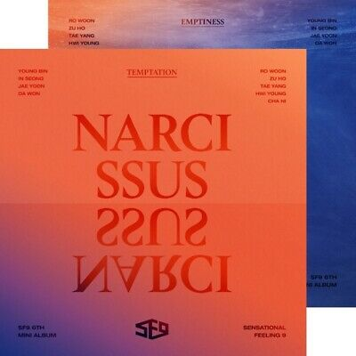 K-POP SF9 6th Mini Album [NARCISSUS] Random Ver CD+Booklet+2p Photocard+F.Poster