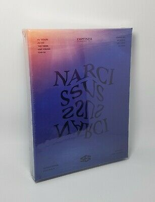 SF9 6th Mini Album [NARCISSUS] EMPTINESS Ver. CD+Booklet+2p Photocard+F.Poster