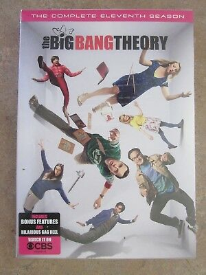 The Big Bang Theory Complete Eleventh Season 11 Dvd Set Brand New!