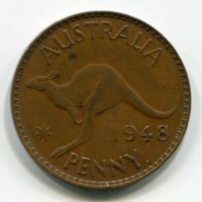 1948Y Penny, Fine - One Of The 15 Rarest Pennies