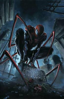 Superior Spider-Man #799 Crain Virgin Variant Marvel Comics 2018 Nm Venom Ghost