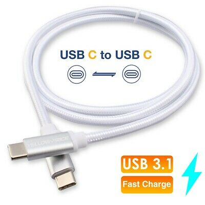 Thunderbolt 3 (USB-C) Cable USB-C to Type-C Charger Sync Cable For iPad Pro 2018
