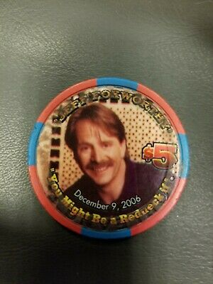 Jeff Foxworthy The Rednecks of Comedy $5 Orleans Casino Poker Chip Las Vegas