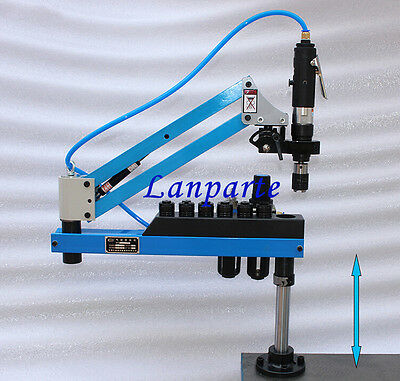 Flexible Arm Pneumatic Air Tapping Machine Multi-direction Tapping M3-M12 ISO