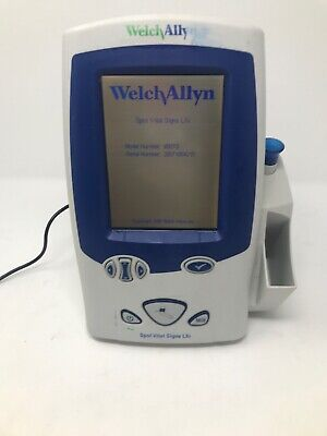 Welch Allyn Spot Vital Signs LXi Blood Pressure and Temperature Monitor