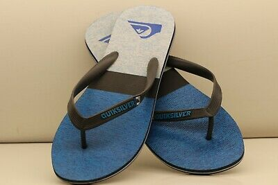 d5fde8f4f Mens Quicksilver Thongs Flip Flops Sandals US Size 12 Preowned Excellent  Shape