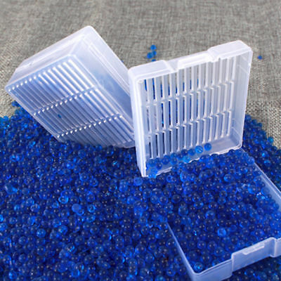 1pcs Blue Silica Gel Desiccant Dry Box Reusable Packing Camera Microscopes NEW
