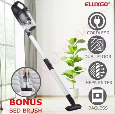 Cordless Stick Vacuum Cleaner 2 In 1 Handheld Bagless Rechargable