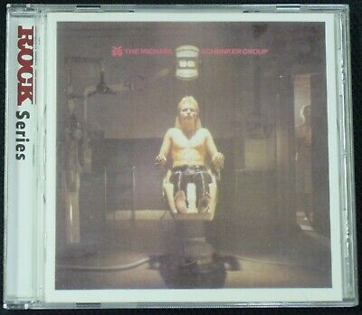 The Michael Schenker Group - Self-Titled S/T CD (2000, EMI) Remastered