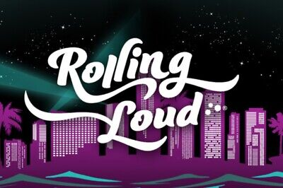 ROLLING LOUD 3-DAY Ticket | May 2019 Pass Wristbands Miami LTD Collectable RARE