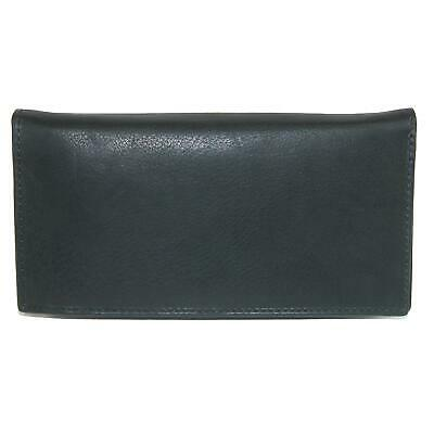 New CTM Leather Deluxe Checkbook Cover and Wallet